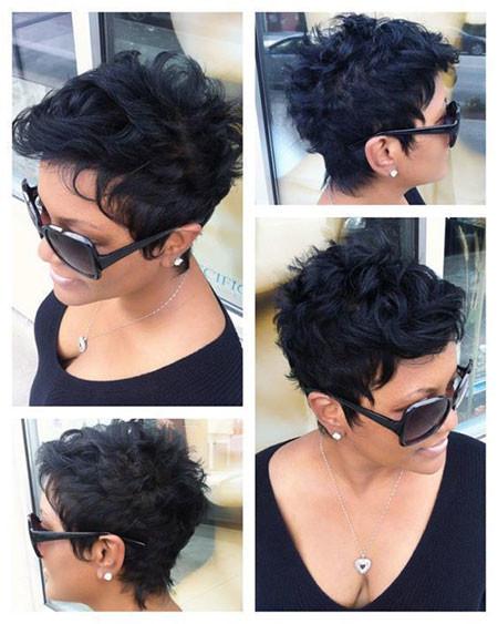 Pixie-Cut-Natural-Hair Best Short Pixie Hairstyles for Black Women 2018 – 2019
