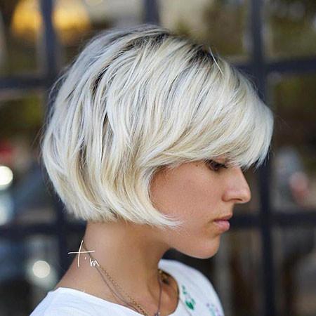 Platinum-Bob Short Bob Haircuts 2019