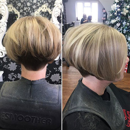 Rounded-Bob-1 Short Inverted Bob Hairstyles
