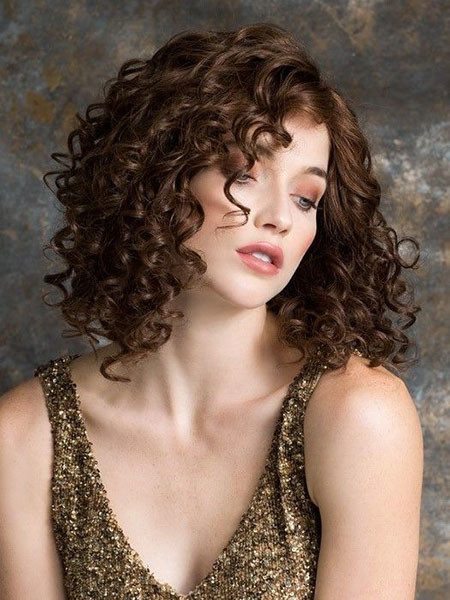 Sexy-Short-Curly-Hair Popular Short Curly Hairstyles 2018 – 2019