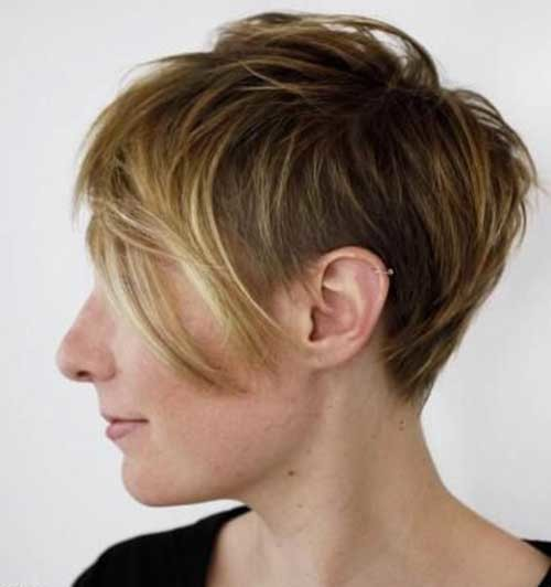 Shaggy-Long-Pixie Best Short Haircuts for 2018-2019