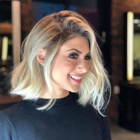 Short-Asymmetrical-Hair Popular Short Haircuts 2018 – 2019