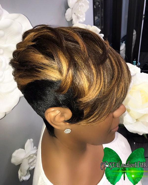 Short-Blonde-Hair-1 Short Haircuts for Black Women 2019