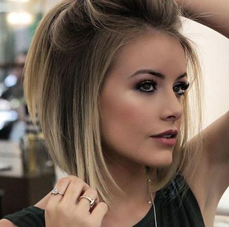 Short-Bob-Hairstyle Popular Short Haircuts 2018 – 2019