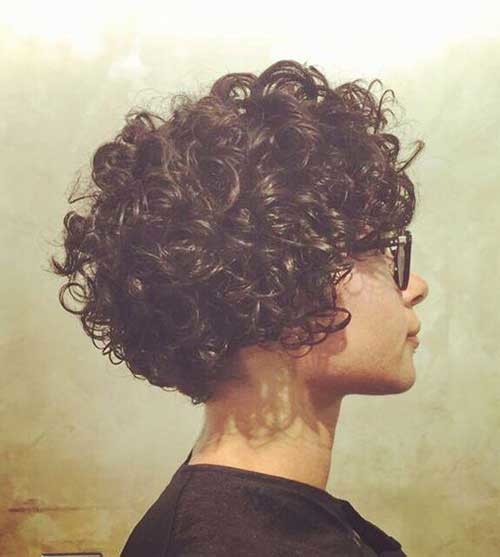 Short-Bob-for-Curly-Hair Best Short Haircuts for 2018-2019