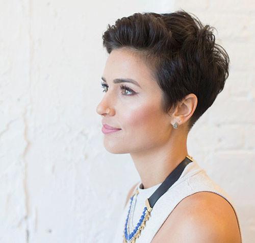 Short-Cute-Pixie-Hair Popular Short Haircuts 2018 – 2019