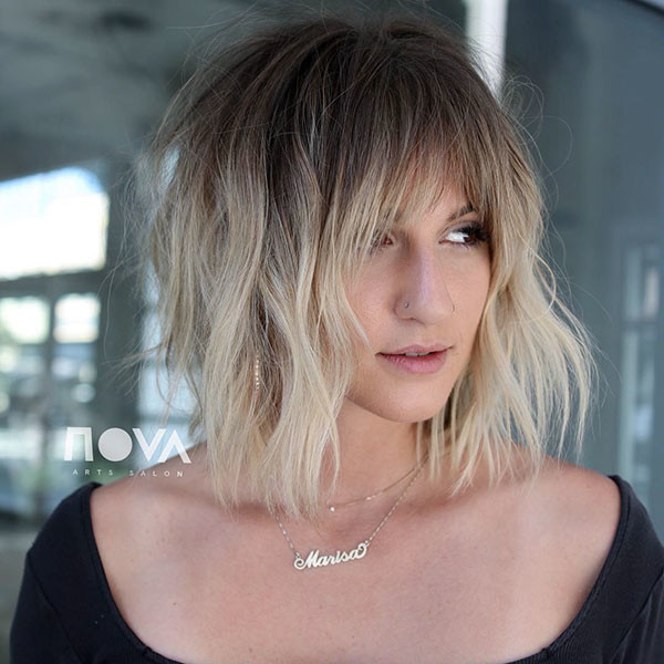 Short-Hairstyles-3 Short Hairstyles with Bangs 2019