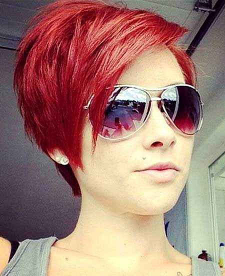 Short-Red-Hair-Color Hair Color Ideas for Short Haircuts