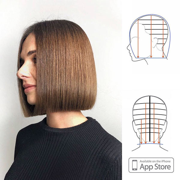 Short-Straight-Bob-Hairstyle Best New Bob Hairstyles 2019