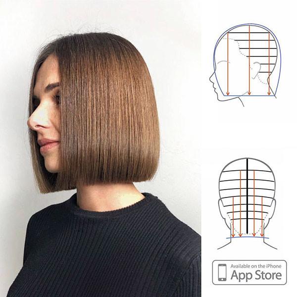 Short-Straight-Bob-Hairstyle Best New Bob Hairstyles 2019