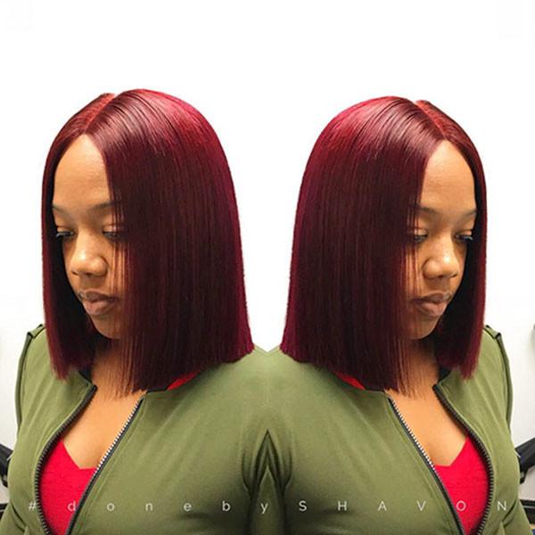 Short-Straight-Hair-1 Short Haircuts for Black Women 2019