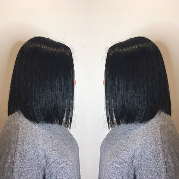 Short-Straight-Hair-Cut Short Straight Hairstyles 2019
