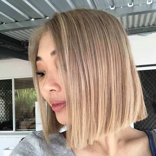 Short-Straight-Hairstyle-1 Short Straight Hairstyles 2019