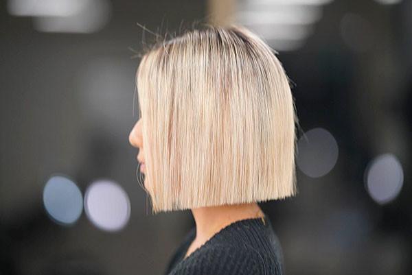 Short-Straight-Thin-Hairstyle Short Straight Hairstyles 2019