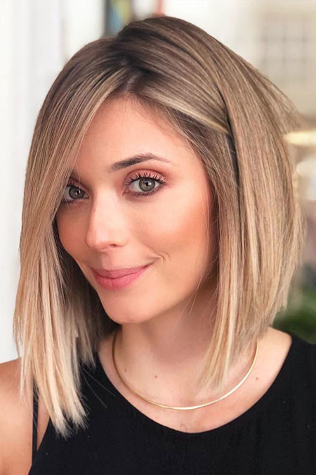 Short-Thin-Hairstyle Popular Short Haircuts 2018 – 2019