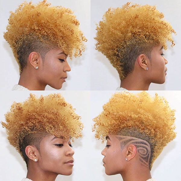Short-Trendy-Hair Short Haircuts for Black Women 2019