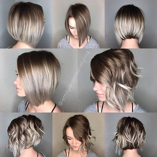 Short-Wavu-Hairstyle Popular Short Haircuts 2018 – 2019