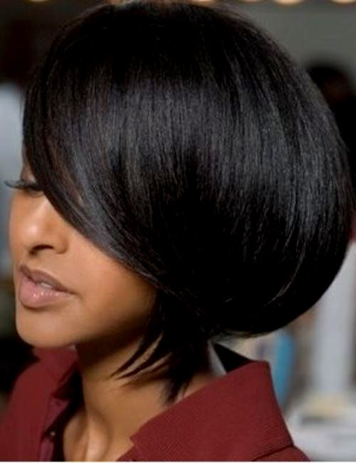 Short-bob-haircuts-for-black-women Best Black Short Hairstyles for Women
