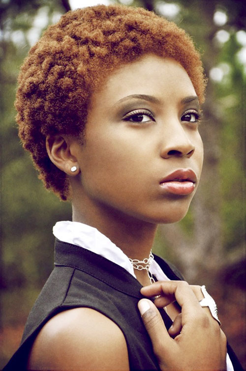 Short-hairstyles-for-black-women-with-color Best Black Short Hairstyles for Women