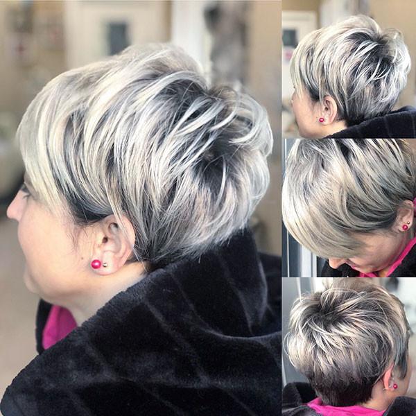 Silver-Pixie-Haircuts Best Pixie Cut 2019