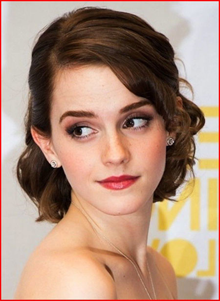 Simple-Half-Updo-Hairstyle Wedding Hairstyles for Short Hair