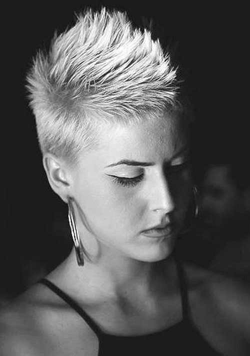 Spiky-Pixie Outstanding Short Haircuts for Women
