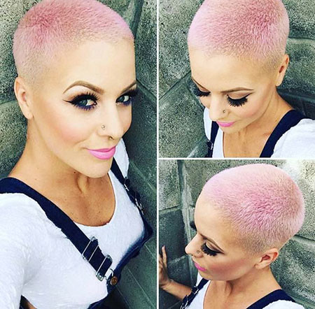 Super-Short-Haircut Trendy Short Hairstyles 2019
