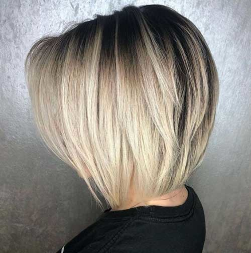 Tapered-Bob Outstanding Short Haircuts for Women