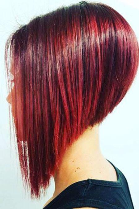 Trendy-A-line-Bob-Hair Short Bob Haircuts 2019