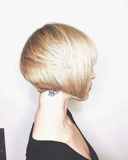 Trendy-Blonde-Hair Trendy Short Hairstyles 2019