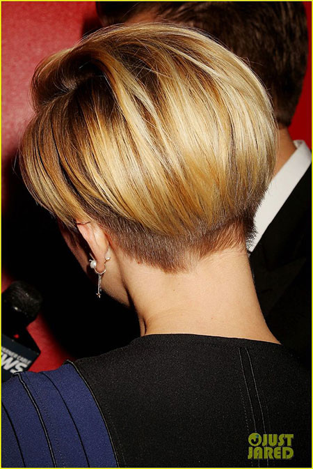 Undercut-Hairstyle Scarlett Johansson Short Hairstyles