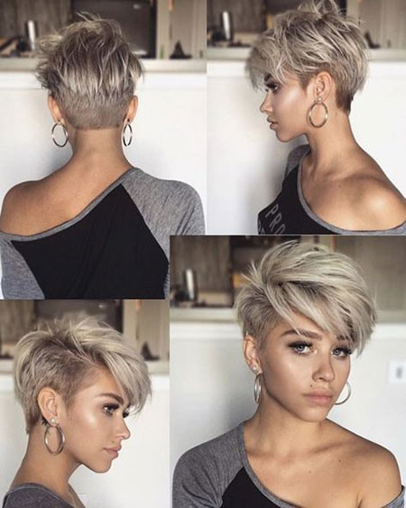 Undercut-Pixie-Haircut Popular Short Haircuts 2018 – 2019