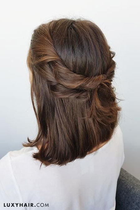 Upstyle-for-Short-Hairstyles Upstyles for Short Hair