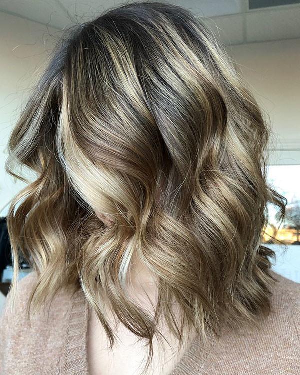 1-short-wavy-hair Best Short Wavy Hair Ideas in 2019