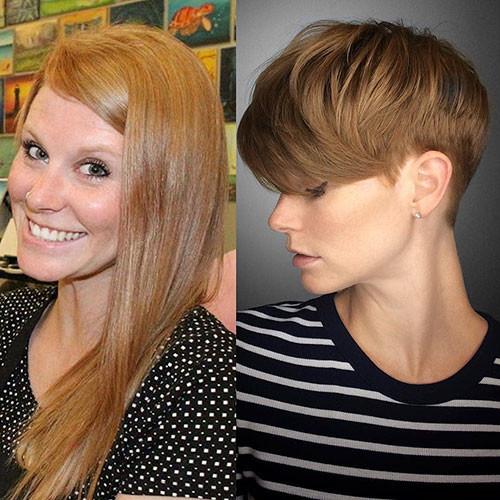 50-short-side-swept-bangs Best New Short Hair with Side Swept Bangs
