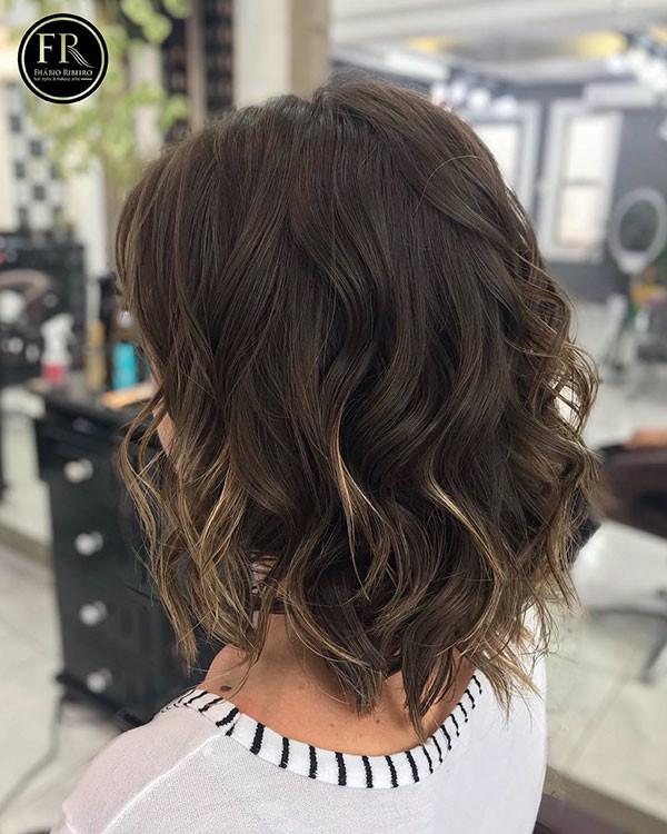 6-short-wavy-hair-women Best Short Wavy Hair Ideas in 2019