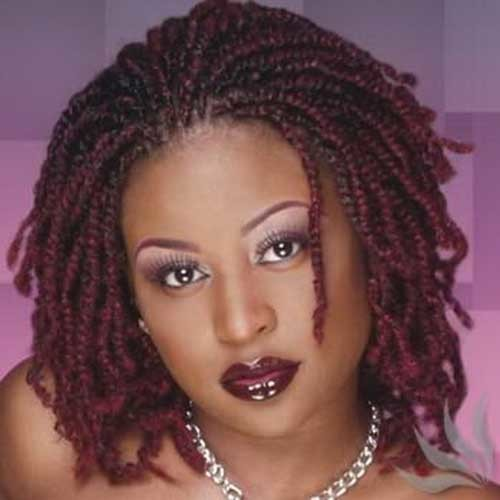 African-Hair-Braiding-Style Braids for Black Women with Short Hair