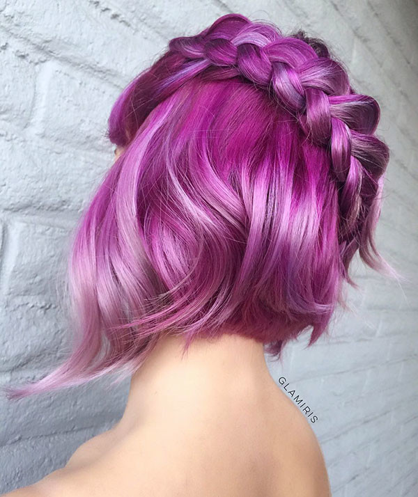 Amazing-Color-and-Style Amazing Braids for Short Hair