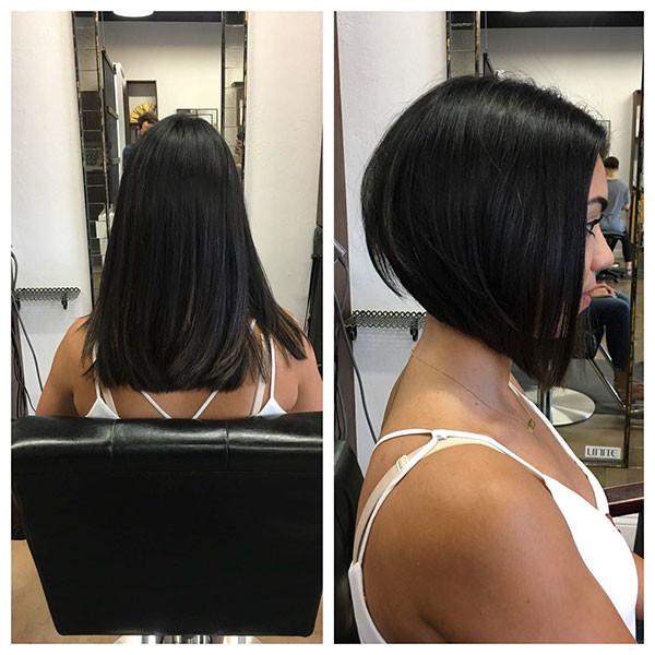 Black-Bob-Hair Popular Bob Hairstyles 2019