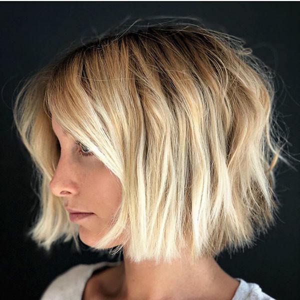 Blonde-Bob-Short-Haircut New Short Blonde Hairstyles