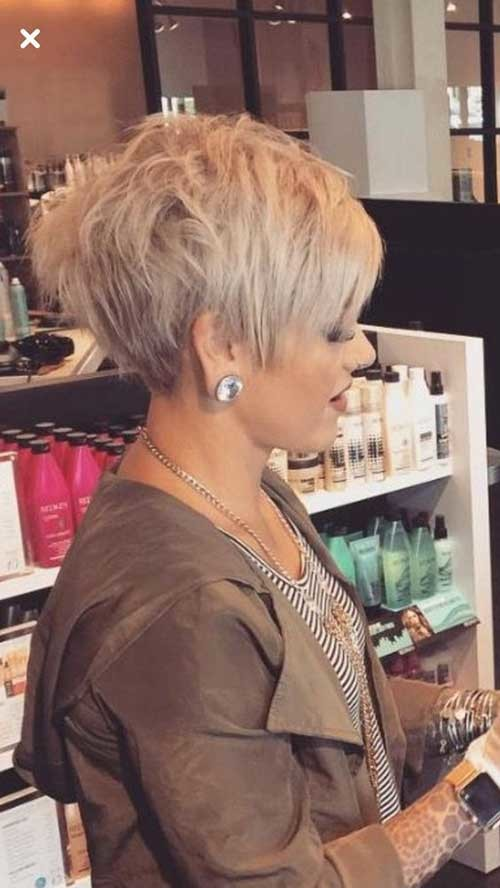 Blonde-Layered-Long-Pixie-for-Women-50 Chic Short Haircuts for Women Over 50