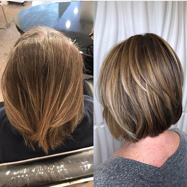 Blonde-Lights New Best Short Haircuts for Women