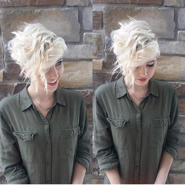 Blonde-Short-Hair New Cute Short Hairstyles