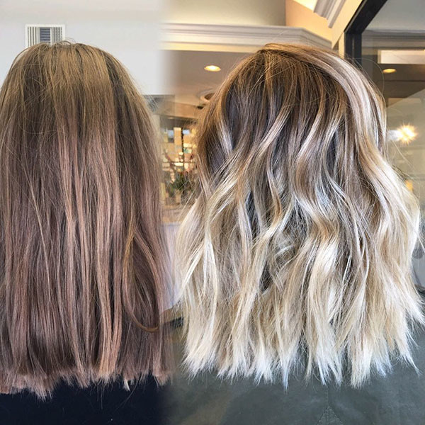 Blunt-Medium-Haircut Best Short Wavy Hair Ideas in 2019