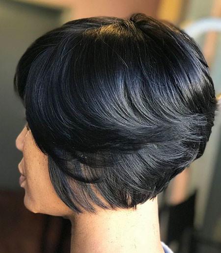 Brunette-Short-Bob Short Bob Haircuts for Women