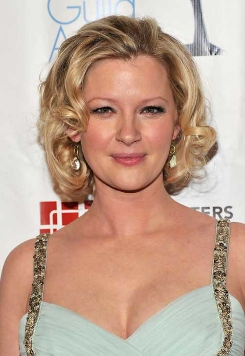 Celebrity-Short-Wavy-Hair Short Haircuts for Wavy Hair