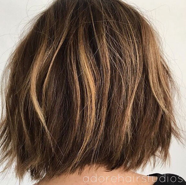 Choppy-Layers New Best Short Haircuts for Women