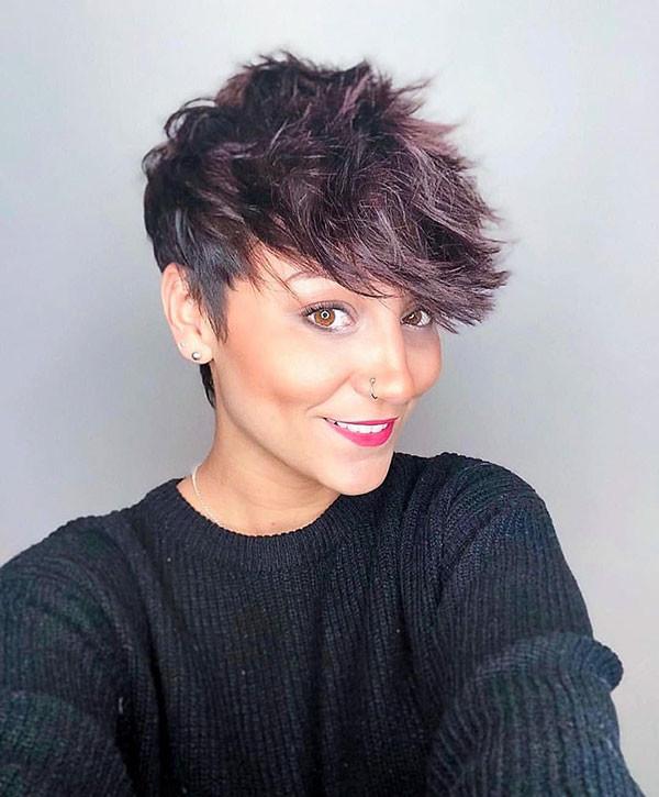 Choppy-Pixie-Haircut New Cute Short Hairstyles