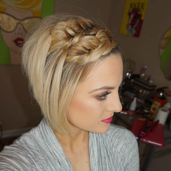Classic-Braid Amazing Braids for Short Hair