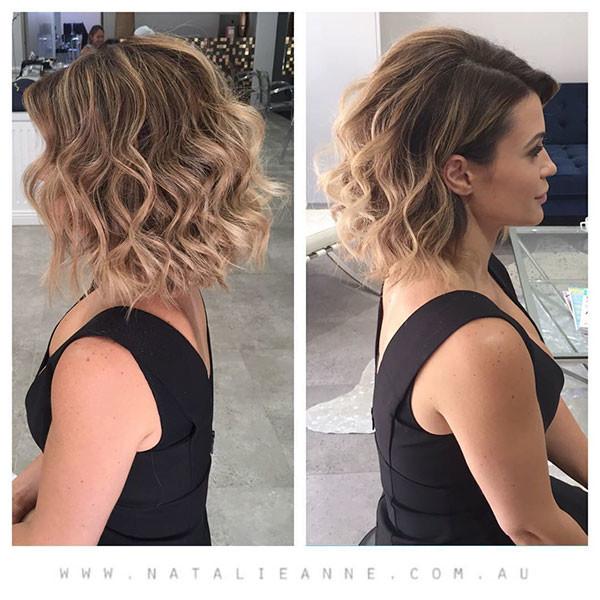 Classy-Bob Wedding Hairstyles for Short Hair 2019
